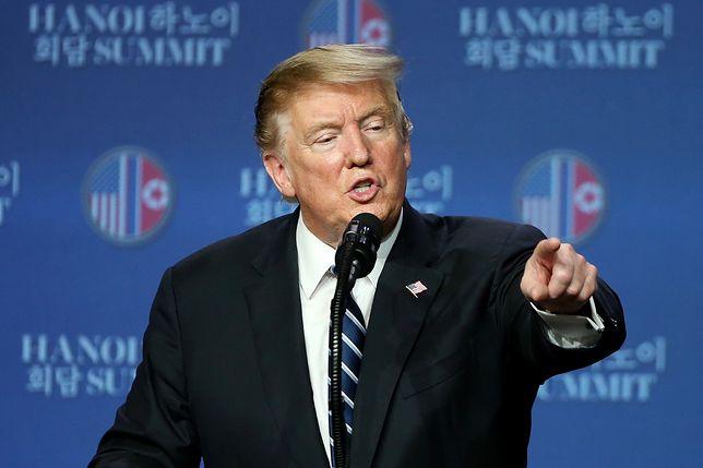 Trump: to nie było nagłe zerwanie rozmów, a atmosfera była przyjazna