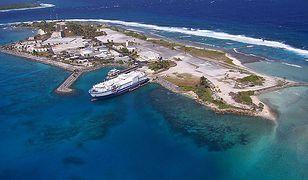 Wyspy Marshalla składają się z 1225 wysepek na zachodnim Pacyfiku