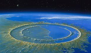 Krater Chicxulub powstały po uderzeniu asteroidy