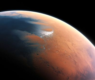 Misja Mars Express odkryła płynne jezioro pod biegunem Marsa