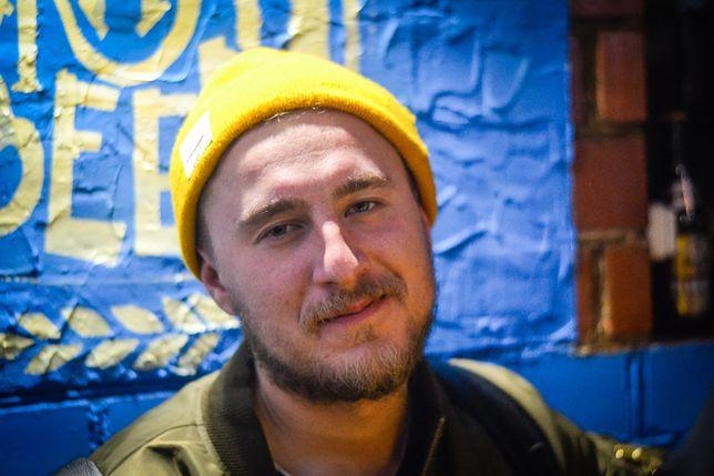 Ivan Shyla, zwolniony dziennikarz TV Biełsat