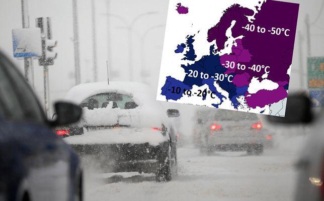 """Pogoda. Szykuje się atak zimy. Meteorolog ostrzega przed """"bestią ze Wschodu"""""""