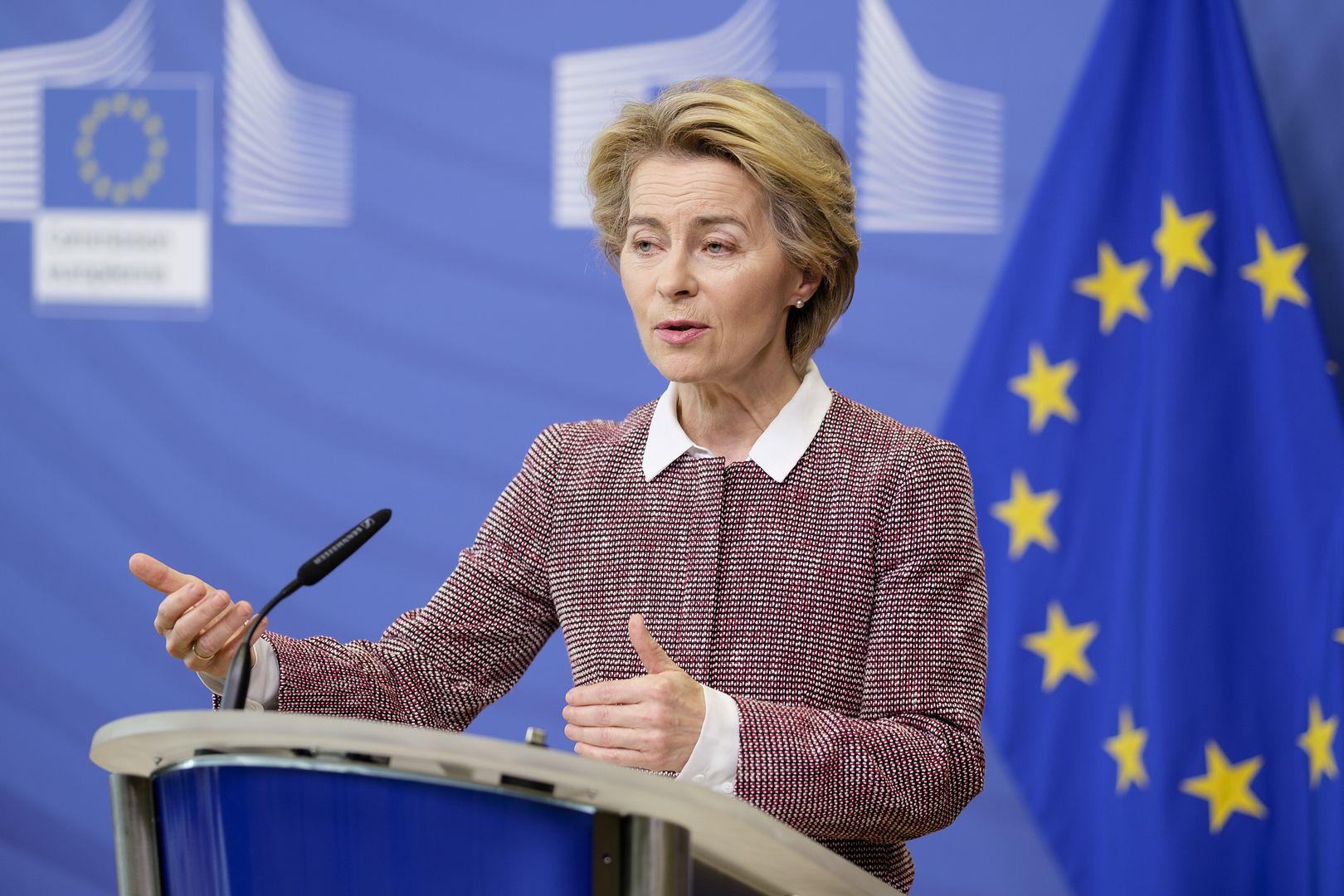 Ursula von der Leyen z orędziem o stanie Unii Europejskiej