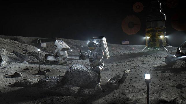 Wizualizacja misji Artemis