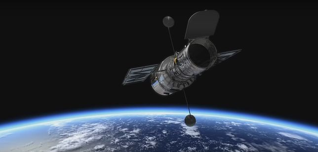 Teleskop Hubble'a spojrzał 500 mln lat w przeszłość