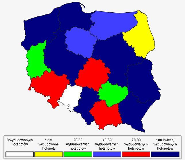 Internet za darmo. W całej Polsce! Zobacz mapę