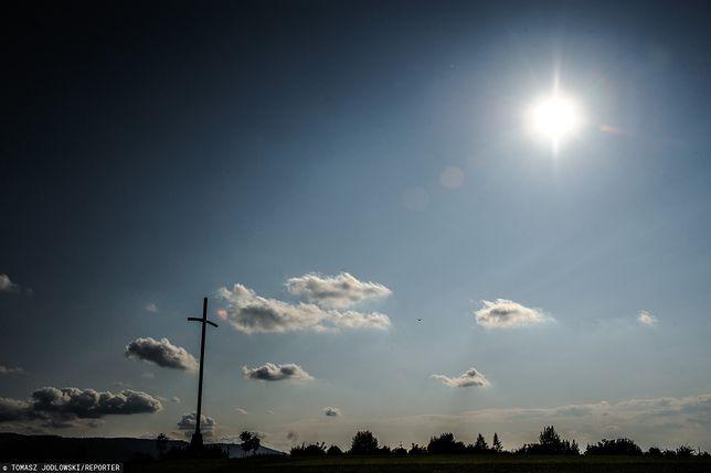Profanacja wizerunku papieża i Krzyża Trzeciego Tysiąclecia w Bielsku-Białej