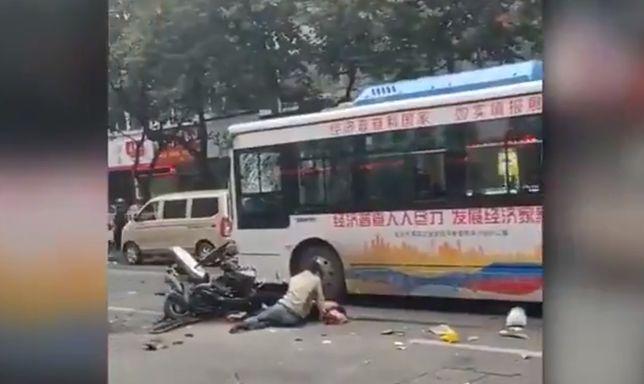 Porwanie autobusu w Chinach. Są zabici i ranni