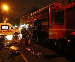 Moskwa. Pożar w szpitalu dla zakażonych koronawirusem
