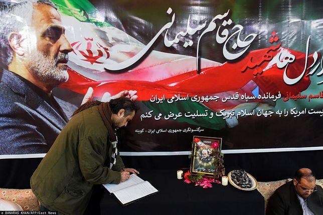 Iran po ataku USA. Następca Sulejmaniego zapowiada zemstę