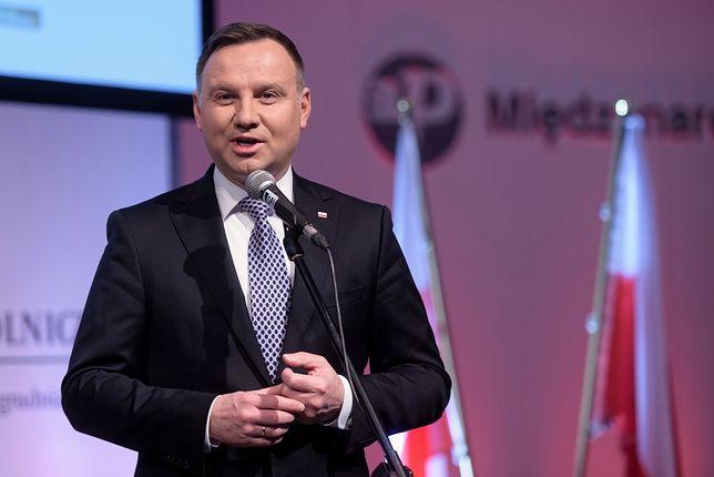 Prezydent Polski z okazji andrzejek złożył wszystkim solenizantom życzenia