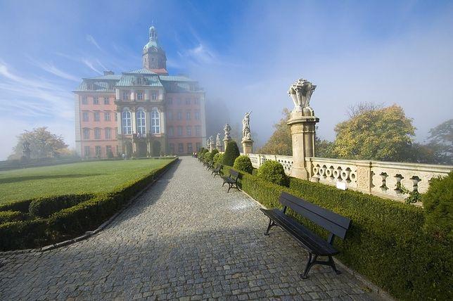 Zamek Książ znajduje się w Wałbrzychu