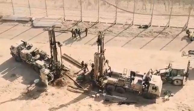 Izrael. Wojsko odkryło nowy podziemny tunel ze Strefy Gazy