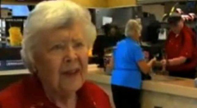 Ma 92 lata i pracuje w McDonald's