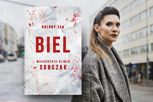 """Nowy mroczny kryminał Małgorzaty Oliwii Sobczak, """"Biel"""""""