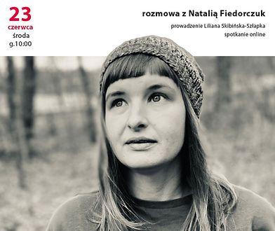 Porannik książkowy. Spotkanie z Natalią Fiedorczuk