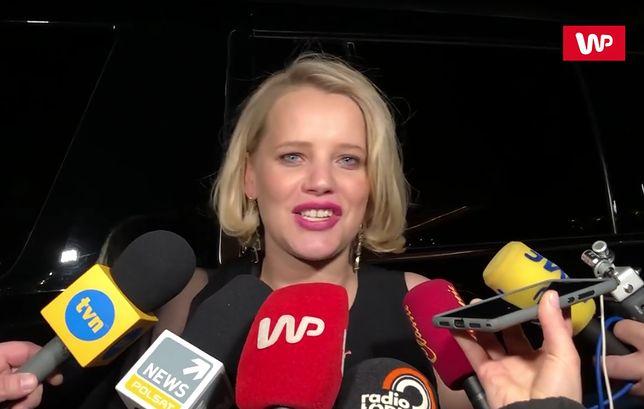 Joanna Kulig spotkała się z polskimi dziennikarzami po oscarowej gali