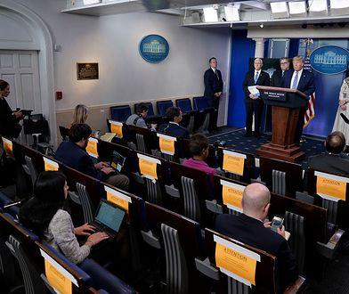 """Donald Trump o koronawirusie: """"Kryzys wkrótce się zakończy. Te leki mogą być skuteczne"""""""