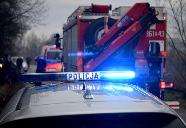 Opole. Wypadek na osiedlu