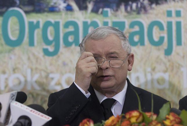 Jarosław Kaczyński na spotkaniu z rolnikami