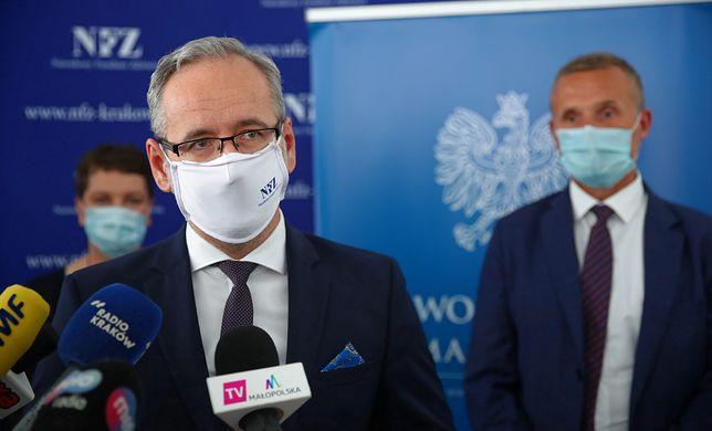 Adam Niedzielski krytycznie wypowiadał się na temat trzeciej fali pandemii