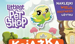 Littlest Pet Shop. Książka do wyklejania