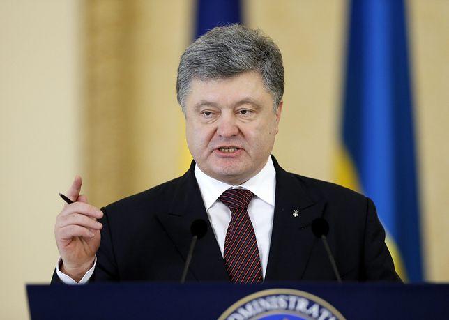 Petro Poroszenko twierdzi, że dostawy broni z USA zmieniły nastawienie Rosji