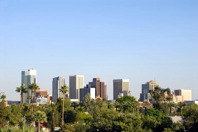 Słoneczne miejsca na świecie - Phoenix, Arizona, Stany Zjednoczone