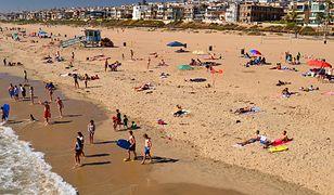 """""""Miasto Aniołów"""" zamierza przygotować dodatkowe wytyczne dotyczące korzystania z plaż (zdjęcie poglądowe)"""