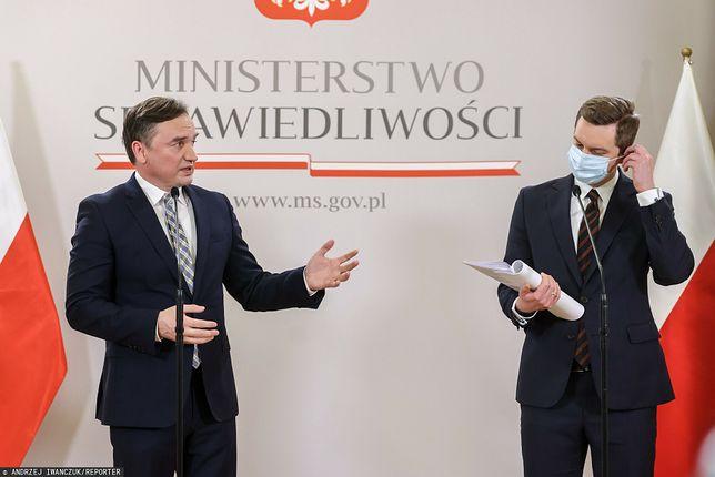 Zbigniew Ziobro i Sebastian Kaleta