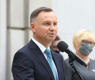 """Andrzej Duda: Polski Ład pokrywa się z """"planem Dudy"""""""