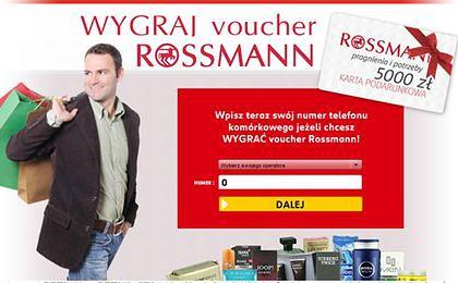 Rossmann ostrzega przed fałszywymi promocjami