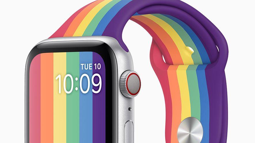 Apple Watch i dwa nowe paski w geście poparcia środowisk LGBTQ. Jeden zaprojektował Nike