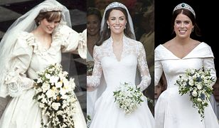 Diana, Kate i Eugenia sporo schudły przed ślubami. Do ołtarza szły o kilkanaście kilogramów lżejsze