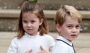 Ślub księżniczki Eugenii. Show pannie młodej skradli Charlotte i George