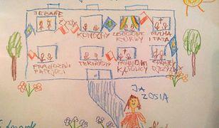Jeden z rysunków ''Zosi''