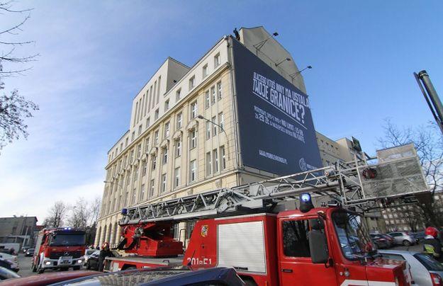 Strażacy ratowali samobójcę. Zaskakujący finał akcji