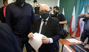 Wyniki wyborów prezydenckich 2020. Prezes PiS Jarosław Kaczyński zagłosował na Żoliborzu