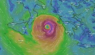 Pogoda. Cyklon Ianos uderzy w Grecję. Nawałnica dotrze do popularnych morskich kurortów