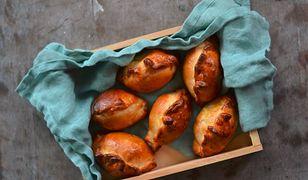 Pieczone pierogi z ragoût z sarniny