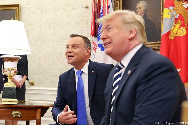 Próba obrony wizyty w USA przez otoczenie Andrzeja Dudy przyniosła więcej problemów, niż korzyści.
