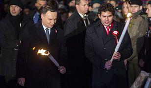 Andrzej Duda na Ognisku Patriotyzmu z okazji 99. rocznicy odzyskania przez Polskę niepodległości