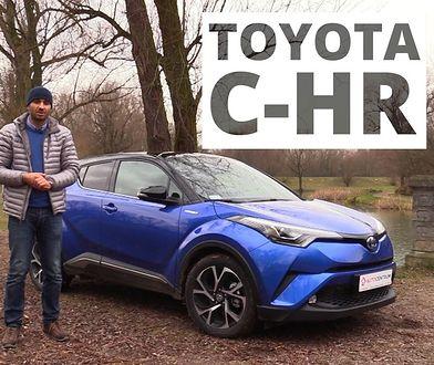 Toyota C-HR 1.8 Hybrid 122 KM, 2016 - test AutoCentrum.pl #305