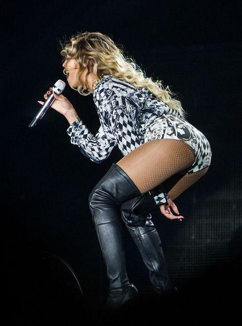 Beyonce na koncercie