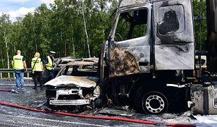 W karambolu na A6 zginęło 6 osób, w tym pięcioro członków rodziny