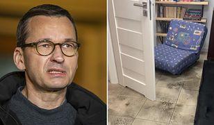 """Burze w Warszawie. Mateusz Morawiecki ofiarą podtopień. """"Wieczór spędziłem w swojej piwnicy"""""""