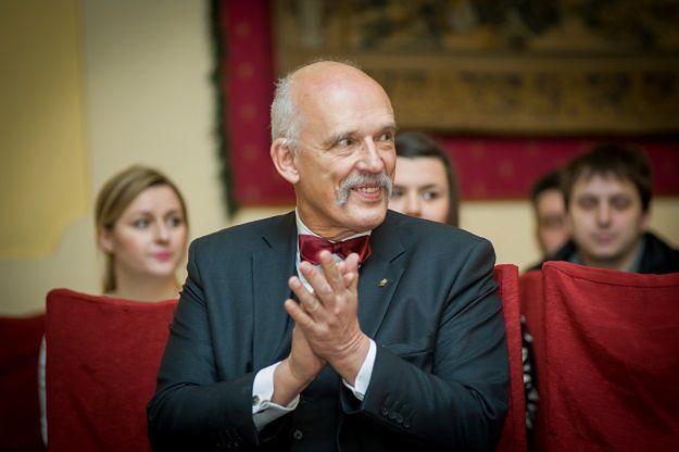 Janusz Korwin-Mikke dla WP: nie mam ochoty startować w wyborach na prezydenta Warszawy