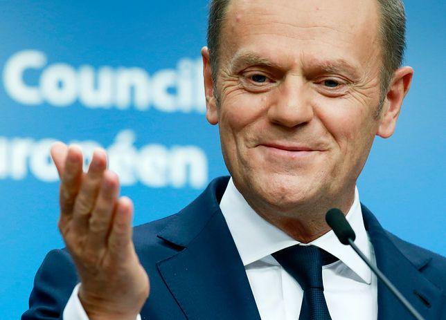 Donald Tusk jest przewodniczącym Rady Europejskiej od 2014 roku