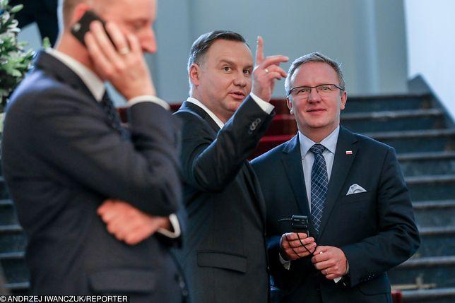 Krzysztof Szczerski skomentował wizytę Andrzeja Dudy w Waszyngtonie