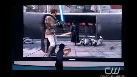 Nie mrugaj, bo przegapisz - Gwiezdne Wojny na Kinecta